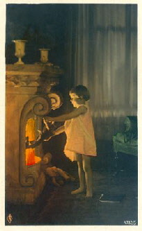 Girl_holding_puppet_into_fire_Fink_series4732_card5